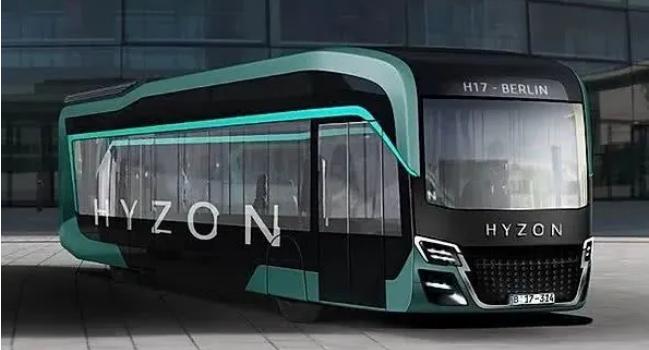 Hyzon氢燃料电池客车斩获1000台订单 车长12M|续航500KM