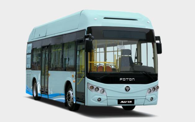 福田氢燃料电池客车BJ6851一次加氢最大续航470公里