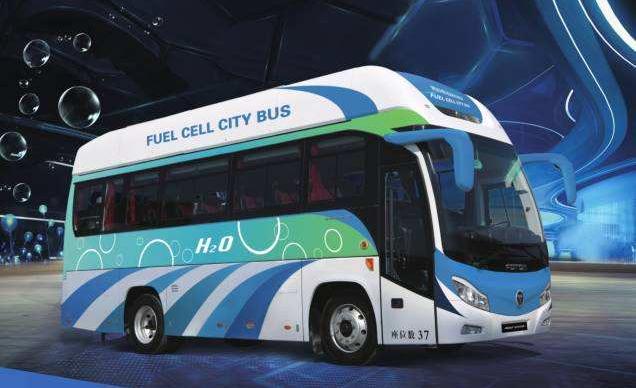 福田汽车、丰田汽车、亿华通将共同合作推出氢燃料电池客车