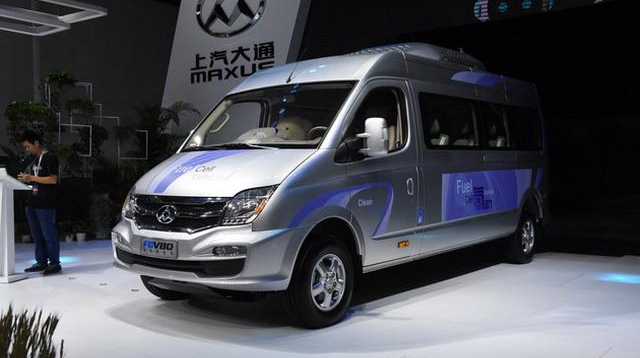 上汽大通燃料电池汽车MAXUS FCV80在无锡运营 续航500公里