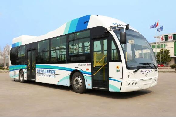 山东沂星11.5米氢燃料电池客车项目成功验收 续航300km