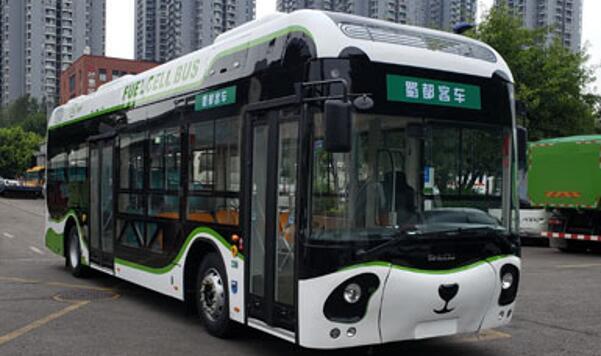 成都客车股份旗下蜀都氢燃料电池客车CDK6110CFCEV申报图