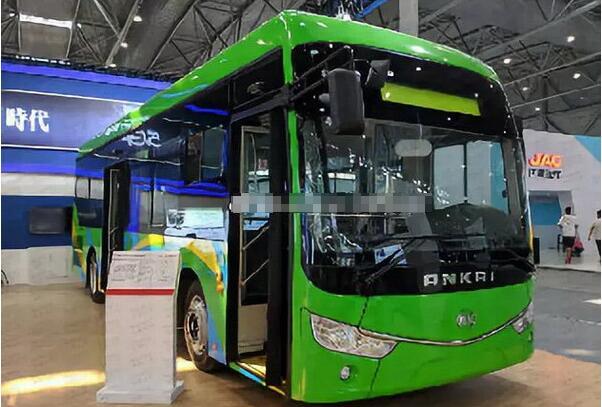 安凯氢能源氢燃料电池客车即将交付六安公交公司