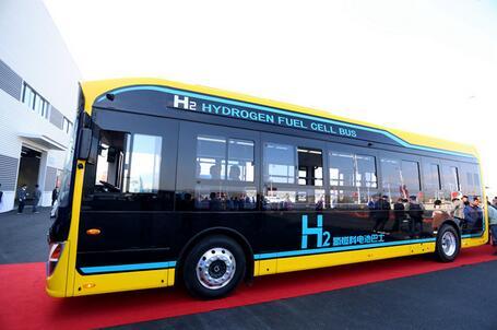 吉林省首辆氢燃料电池客车在延吉下线
