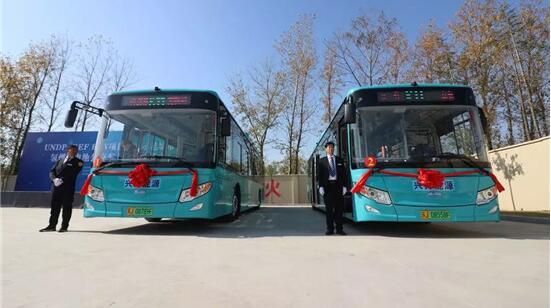 开沃氢燃料电池公交客车投放盐城   加氢5分钟|续航330公里