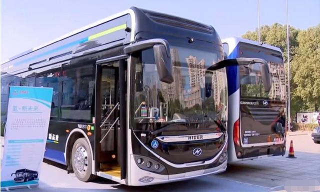 海格氢燃料电池公交车将使用丰田氢燃料电池电堆