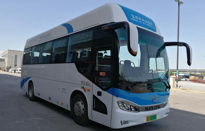 安凯氢燃料客车/申龙氢燃料客车中标安徽六安氢燃料车采购项目