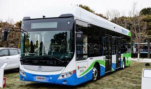 20台宇通氢燃料电池公交客车投运郑州公交四公司985路线