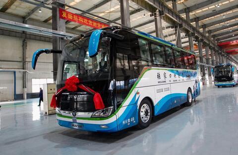 60辆福田氢燃料电池客车中标张家口公交采购项目 283万元/辆