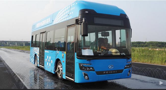 飞驰氢燃料客车上半年销售114台 美锦能源投建三大氢能产业园