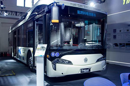 银隆氢燃料电池客车将亮相2020第六届成都国际新能源车展