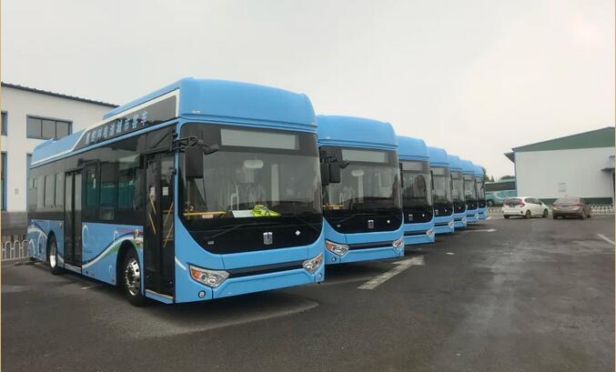 20辆吉利远程氢燃料客车投运淄博 续航里程超450公里