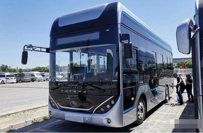 7款氢燃料电池客车亮相2019北京国际道路运输车辆展