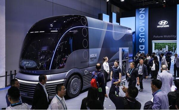 现代氢燃料电池卡车初期将从京津冀,长三角,珠三角,四川省推进