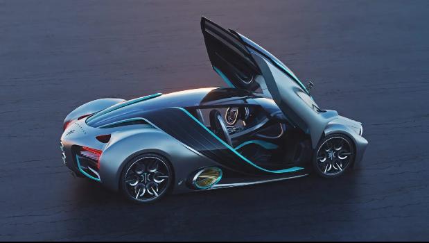 Hyperion推出氢燃料电池跑车XP-1 续航1600公里 百公里加速2.2秒