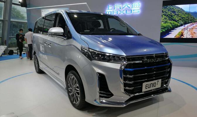 上汽氢能源汽车EUNIQ7亮相FCVC2020氢能车展 续航605KM