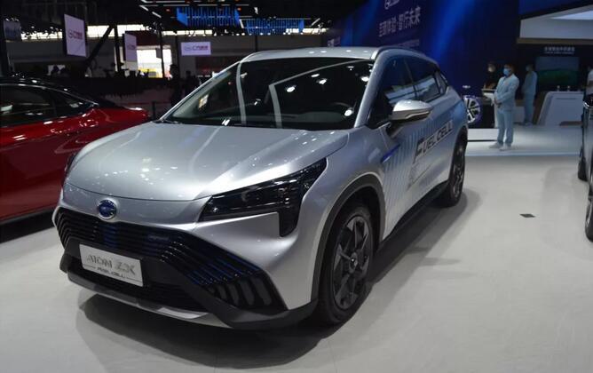 广汽氢燃料电池汽车AION LX 亮相2020广州车展 续航650KM