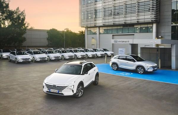 20辆现代氢燃料电池汽车NEXO将澳洲上路 WLTP续航666KM