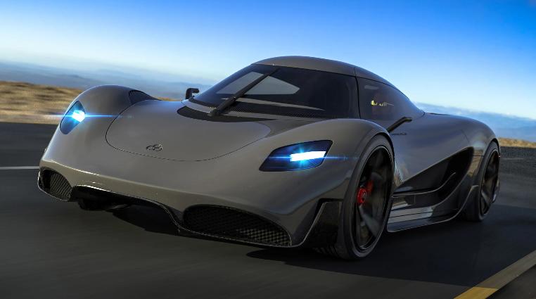 英国公司将推世界最快氢燃料跑车320km/h超越特斯拉电动超跑