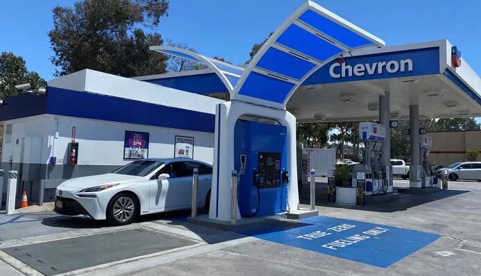 丰田/本田/现代等氢燃料电池汽车公司都已在美国加州布局氢能