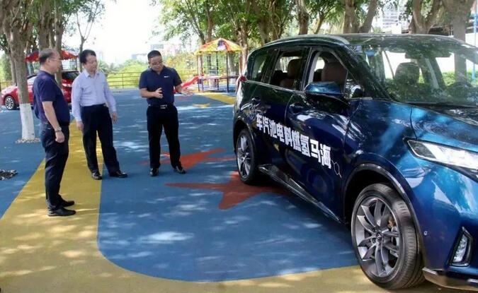 海马汽车:将深耕氢燃料电池汽车  10月前投用海南首座加氢站