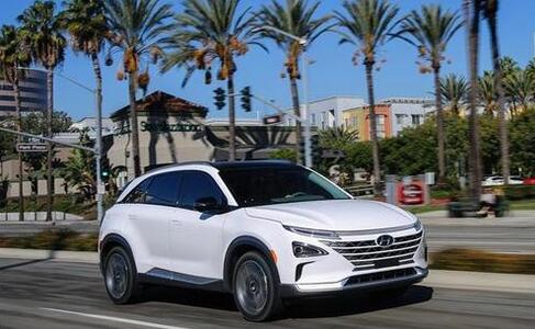 现代Nexo氢燃料电池汽车获得IIHS最高安全评级