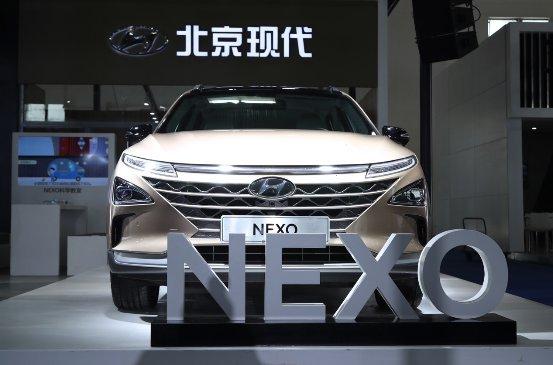 现代氢燃料电池汽车NEXO亮相2019广州国际车展 续航800KM