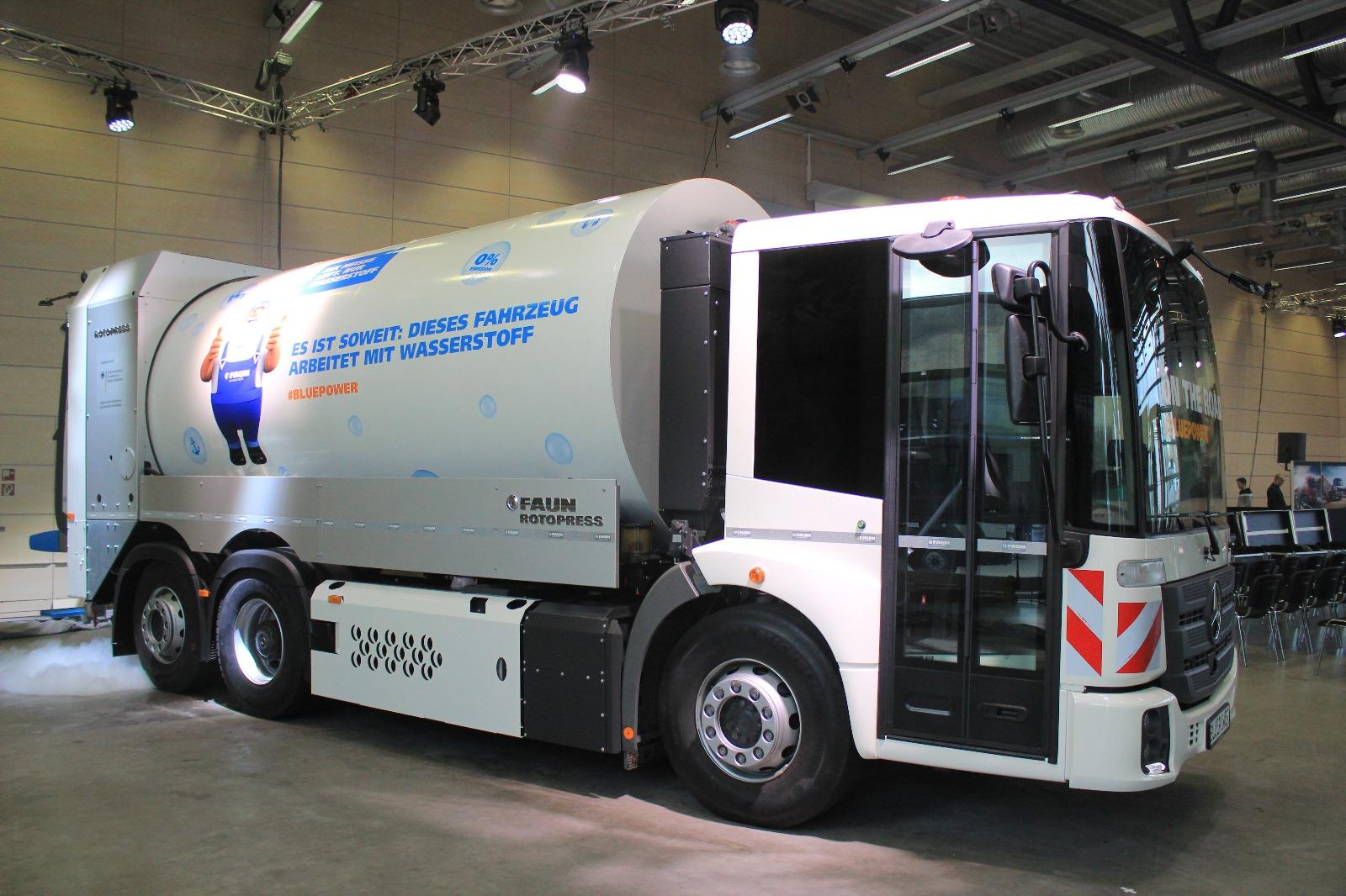 FAUN搭载康明斯氢燃料电池发动机 最高续航560公里