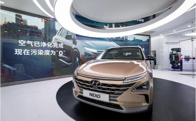 现代氢燃料汽车NEXO及氢燃料卡车参展韩国氢燃料电池汽车展