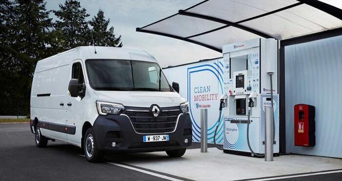 雷诺氢燃料电池物流车即将上市   WLTP最大续航370公里