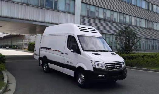 潍柴亚星欧睿氢燃料电池厢式物流车下线 续航400km|载货1.2T