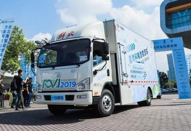 一汽解放氢燃料电池物流车将投产浙江 采用氢谷氢燃料电池