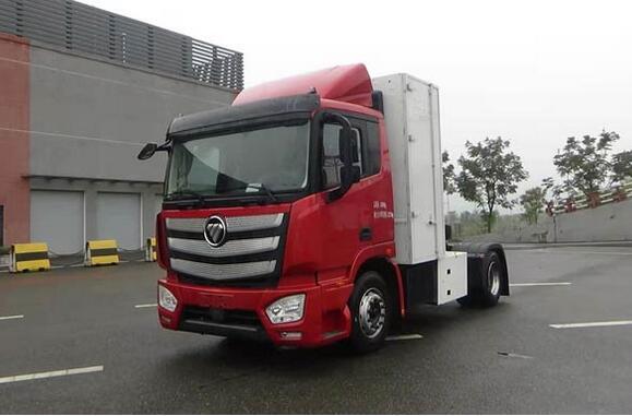 100台福田氢燃料电池重卡车获上海轻程预定 续驶里程500KM