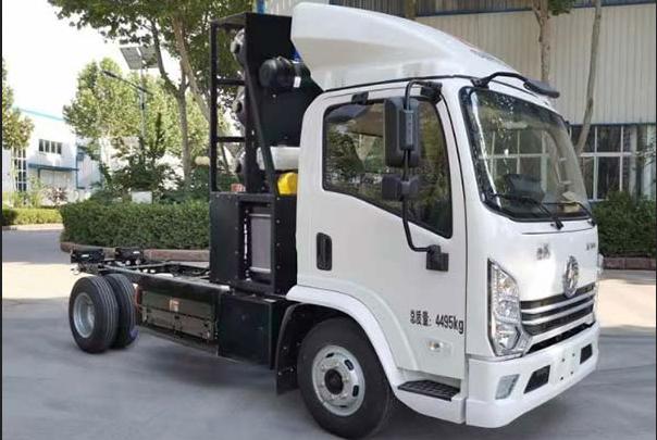 340批公告:陕汽氢燃料电池卡车底盘搭载喜玛拉雅燃料电池系统