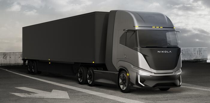 尼古拉氢燃料电池重卡2023-2024年推出 续航800km-1448km