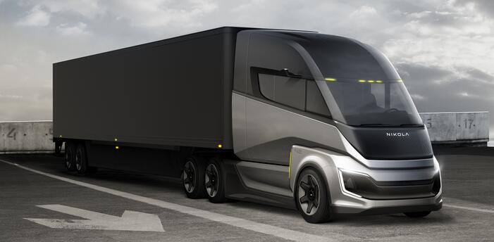 尼古拉氢燃料电池卡车2023-2024年推出 续航800km-1448km
