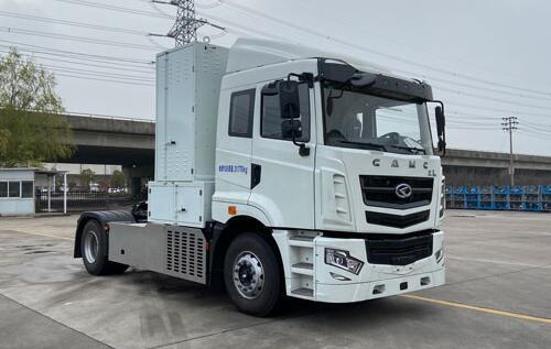 华菱氢燃料电池重卡车上榜第343批公告 搭载重塑燃料电池系统