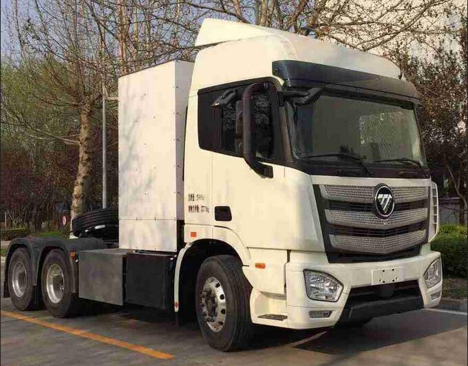 福田氢燃料电池重卡车上榜第344批公告 搭载亿华通氢燃料电池