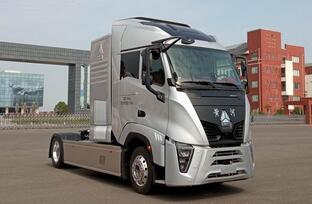 黄河氢燃料电池重卡车上榜第346批公告  搭载潍柴动力燃料电池