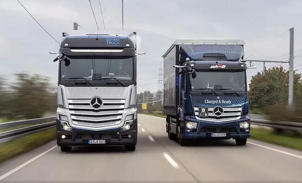 奔驰氢燃料电池重卡车GenH2获准在公共道路测试