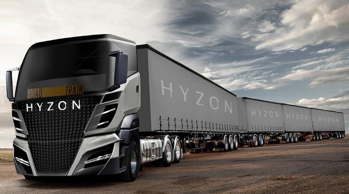 清能股份成立美国氢燃料汽车公司 将推Hyzon氢燃料电池重卡车