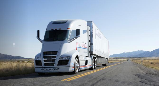 Nikola尼古拉氢燃料电池重卡车将通过捆绑式租赁服务拓展市场