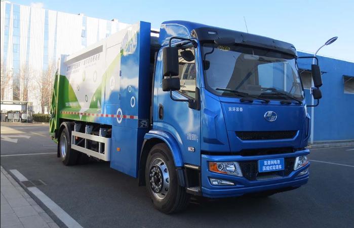 华林氢燃料电池环卫车上榜第341批公告 搭载上海捷氢燃料电池