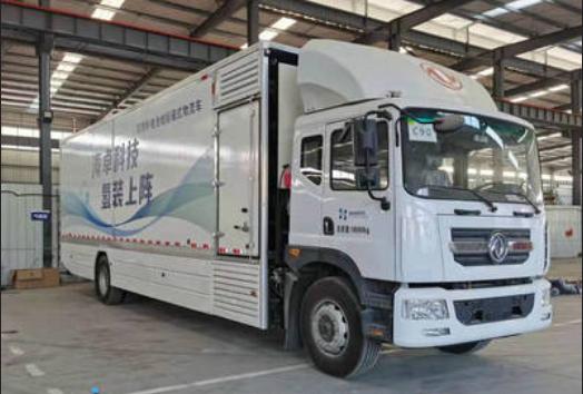 奥扬氢燃料电池冷藏车上榜第341批公告 搭载海卓动力燃料电池