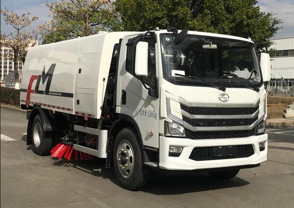 福龙马氢燃料电池环卫车上榜342批公告 搭载上海捷氢燃料电池