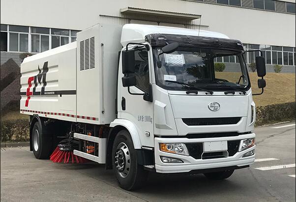 福龙马氢燃料电池扫路车上榜342批公告 搭载上海捷氢燃料电池