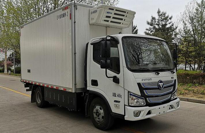 福田氢燃料电池冷藏车上榜第344批公告 搭载亿华通氢燃料电池