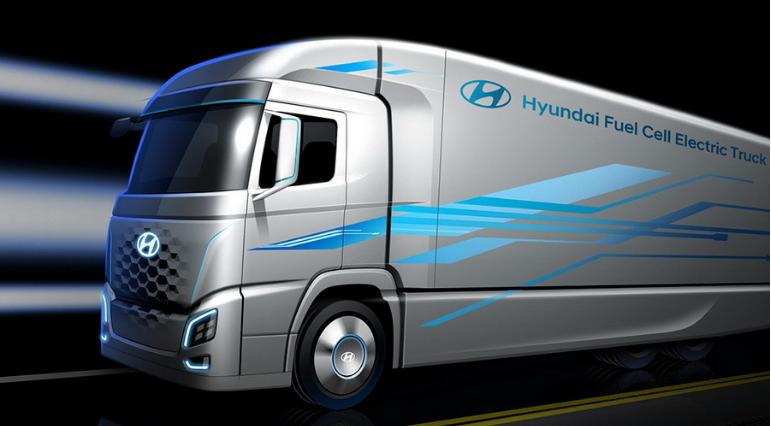 四川现代将生产现代氢燃料电池卡车