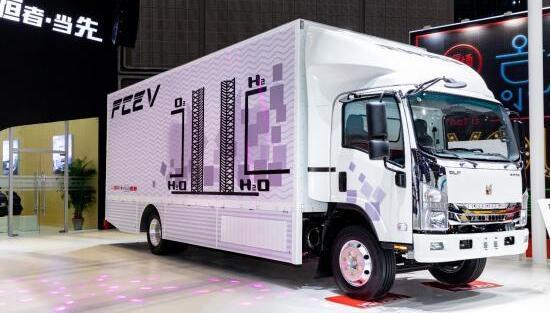 庆铃氢燃料电池卡车推出 加氢3分钟|续航500km|货厢34.7方