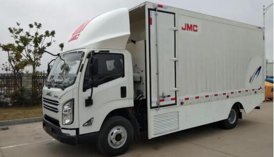 江铃氢燃料电池卡车和江铃氢燃料电池物流车 续航400-500KM